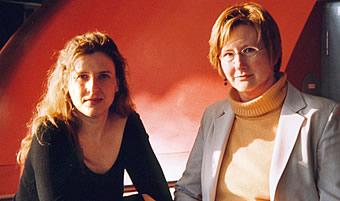 Dorothea von Albrecht und Christine Olbrich