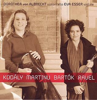 Kodály Martinu Bartók Ravel